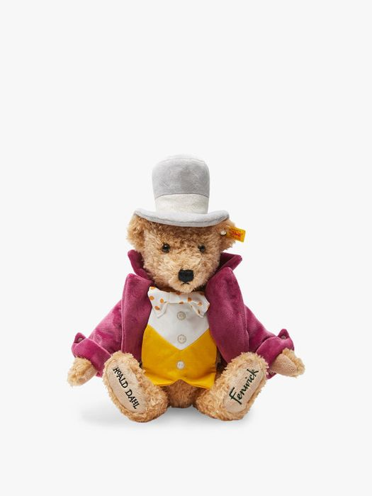 NEW in Steiff Willy Wonka Bear Only £42.5