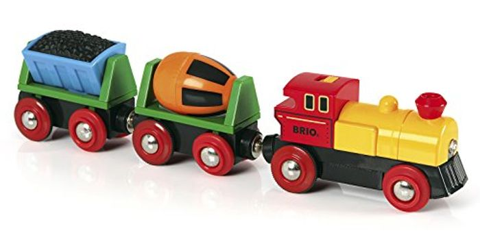BRIO World - Battery Operated Action Train, Multicolored