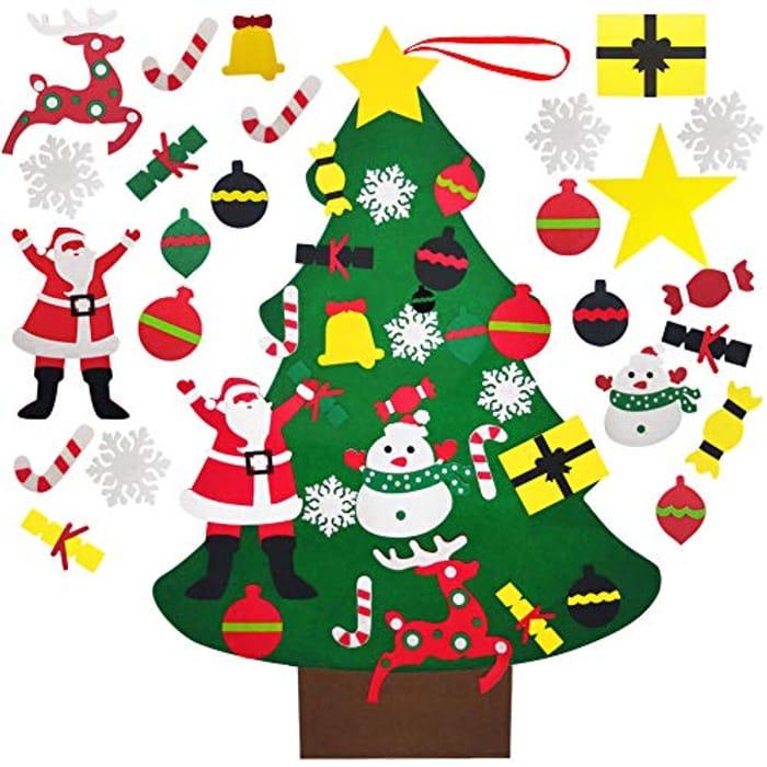 Felt Christmas Tree Set,