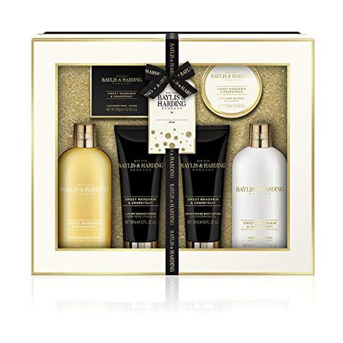 Baylis & Harding Sweet Mandarin & Grapefruit Ultimate Luxury Pamper Gift Set