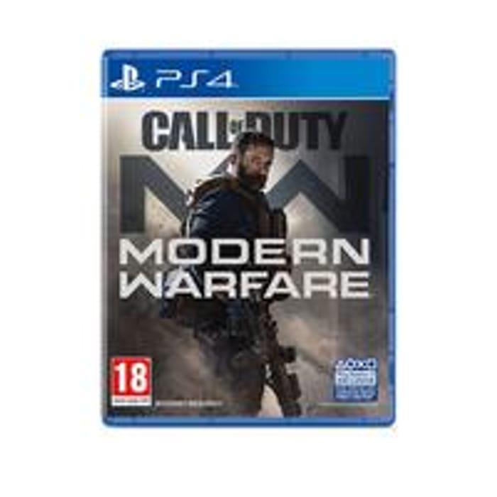 PS4 Call of Duty Modern Warfare - £38.99 at VERY