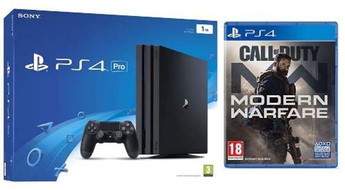 PS4 Pro & Call of Duty: Modern Warfare (2019) Bundle