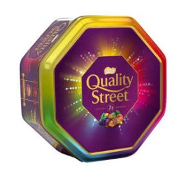 Quality Street Christmas Chocolate, Toffee and Cremes 1kg Tin
