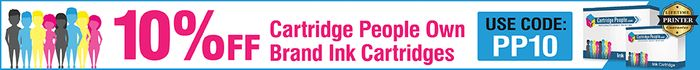 Paypal Deal - save 10% on Cartridge People Own Brand Ink Cartridges
