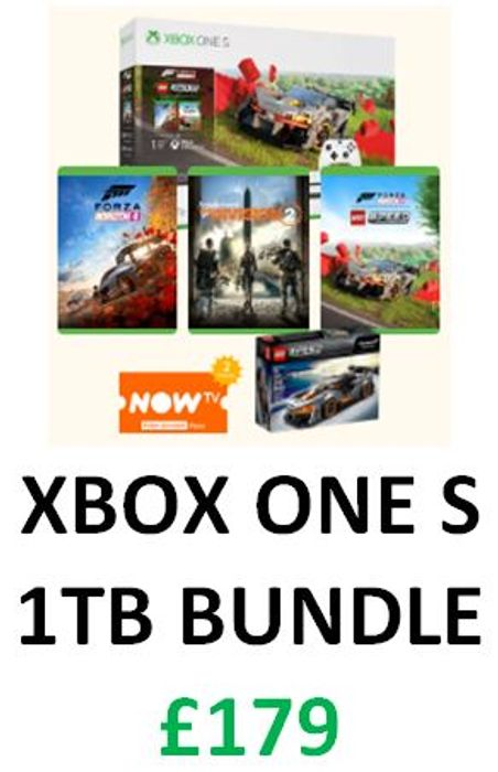 Cheap 1TB Xbox One S Bundle at GAME Only £179!