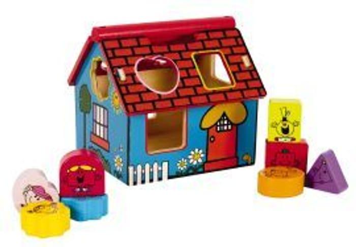 My First Mr. Men Little Miss Shape Sorter House