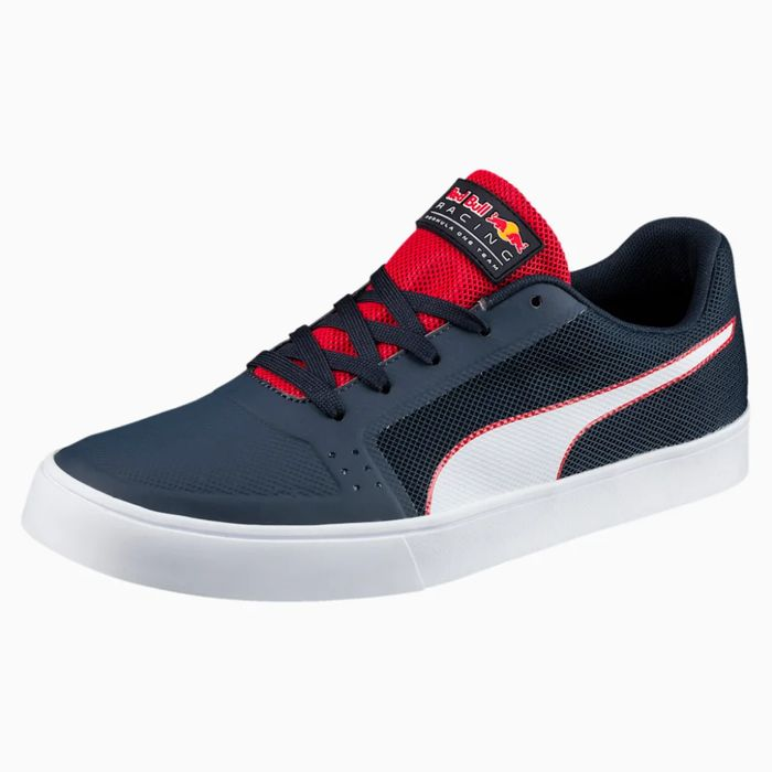 Best Price! Puma Red Bull Racing Wings Vulc Trainers Down From £67 to £33