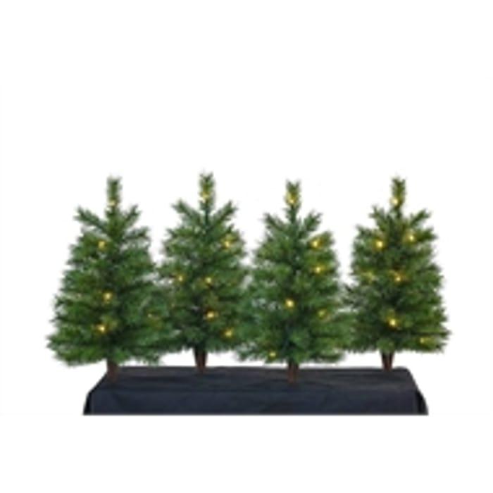 Mini Tree Stakes Set of 4