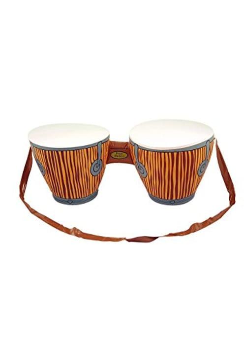 CHEAP! Childrens Retro Fancy Hawaiian Bongo Drums Kids School Blow up Toy
