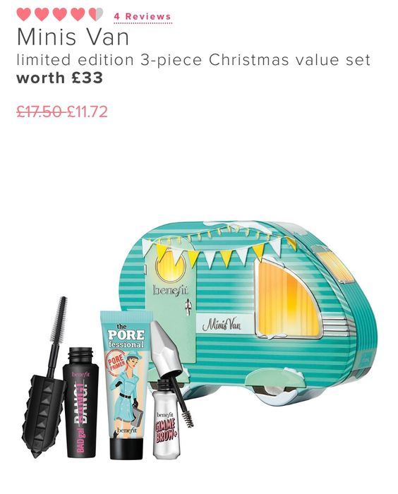 Minis Van Limited Edition 3-Piece Christmas Value Set