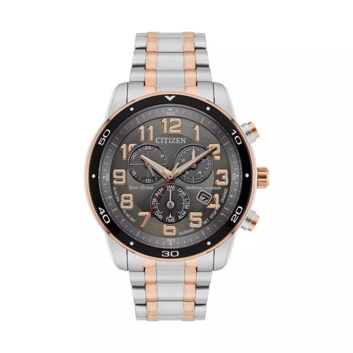 Citizen Eco-Drive Men's Two Tone Bracelet Watch