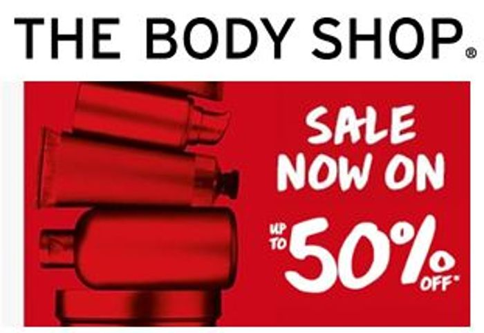 THE BODY SHOP - January Sale is ON!