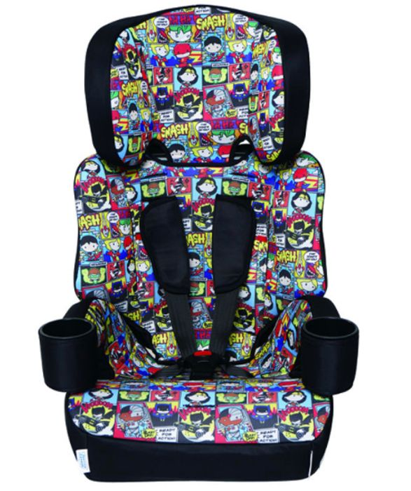 Kids Embrace Group 1,2,3 Booster Car Seat - Justice League