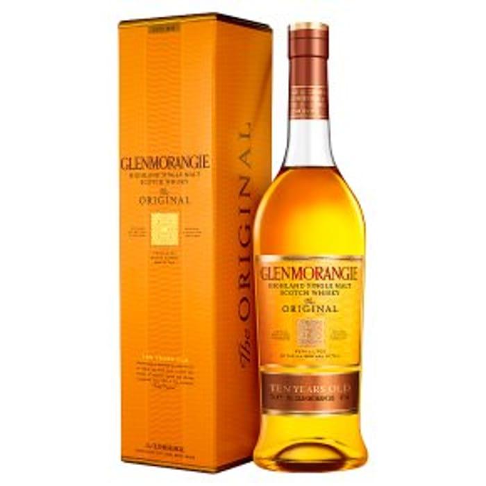 Glenmorangie 10 Year Old Single Malt Whisky Highlands 70cl