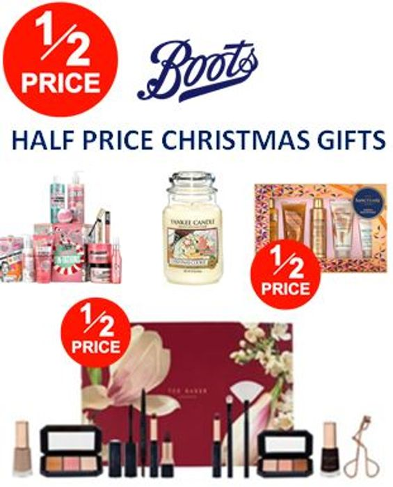 Best Price! 500 Christmas Gifts - Half Price Now at Boots