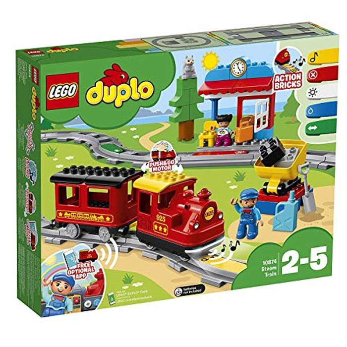 SAVE £15 - LEGO DUPLO: Steam Train (10874) *4.6 STARS*