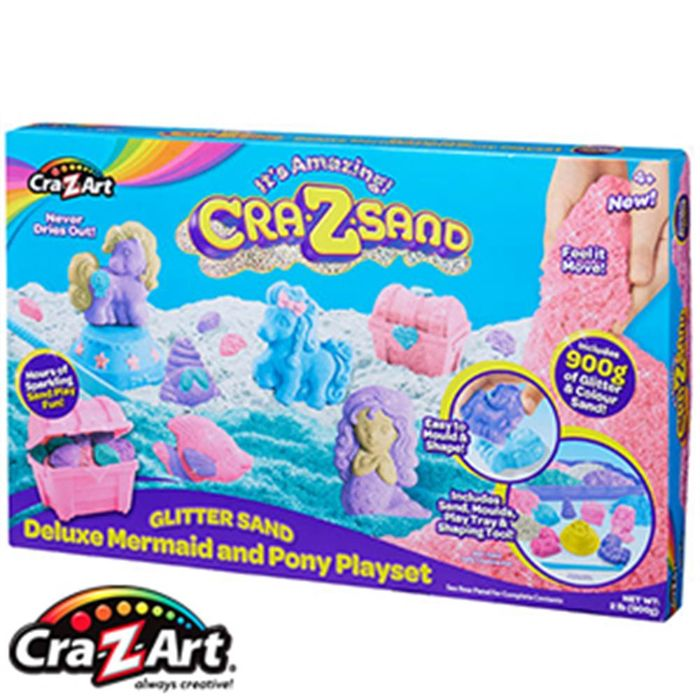Cra-Z-Sand Deluxe Mermaid & Pony Playset