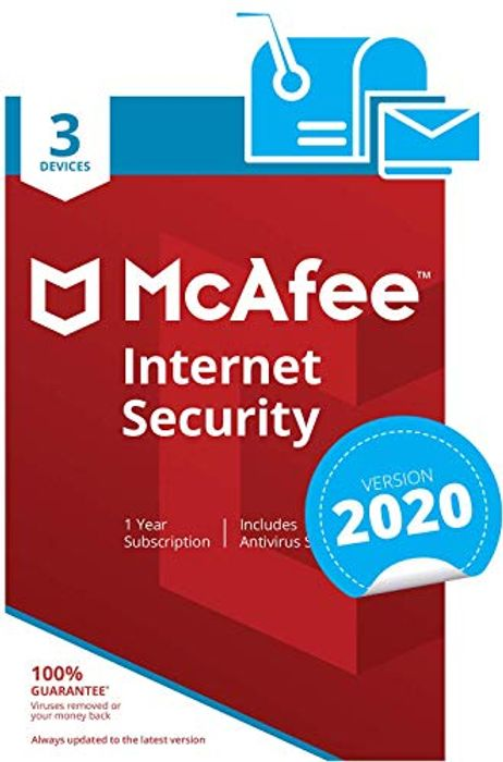 McAfee Internet Security 2020 | 3 Devices | 1 Year |