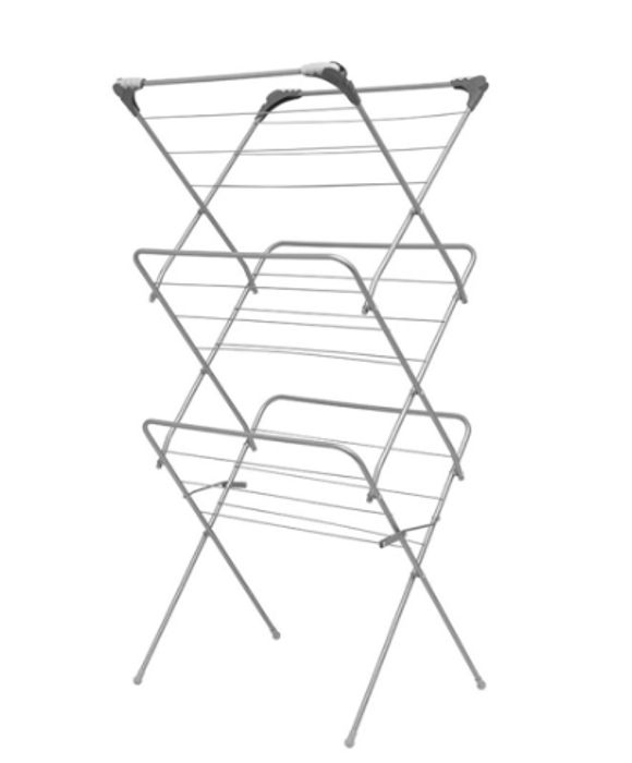 Addis 3 Tier Airer with Hooks Only £8.99