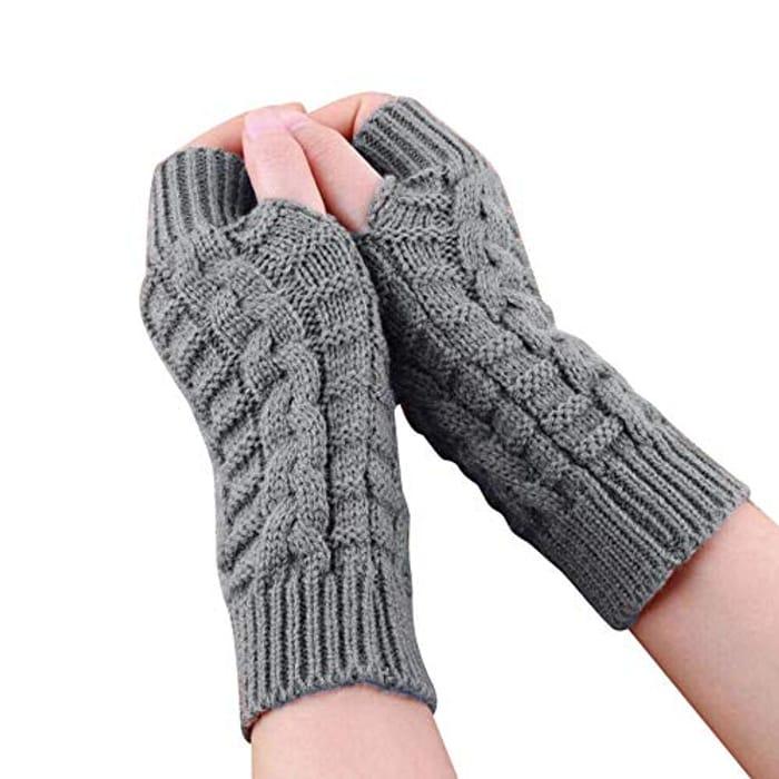 Women's Long Warm Gloves for £1.10 Delivered