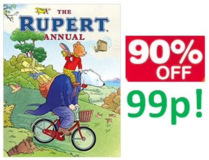 90% OFF! The Rupert Annual 2020 Hardcover