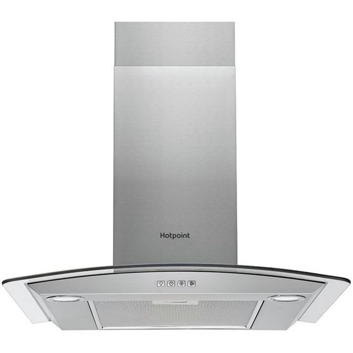 Hotpoint PHGC7.4FLMX 70cm Cooker Hood - Stainless Steel