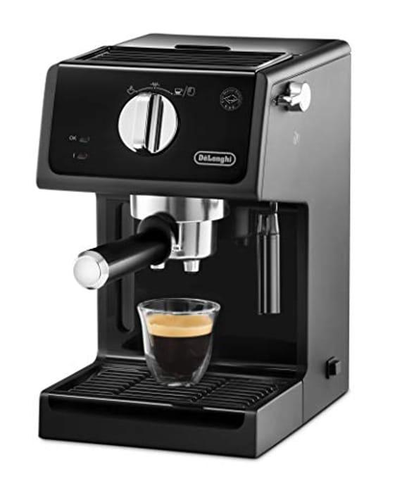 De'Longhi ECP31.21 Traditional Pump Espresso Machine - Black [Energy A]