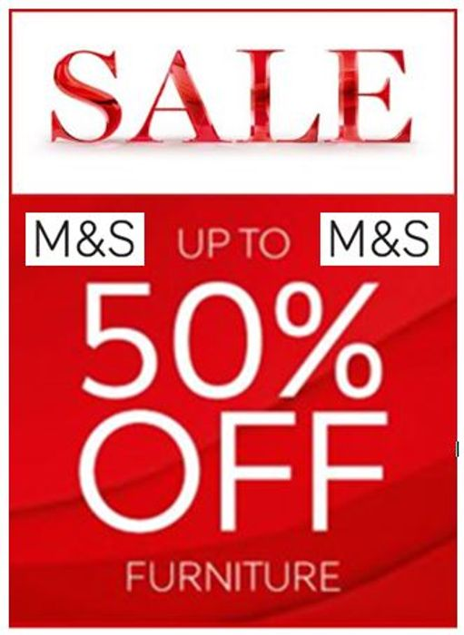 M&S SALE - up to 50% OFF Sofas, Armchairs, Mattresses, Wardrobes etc.