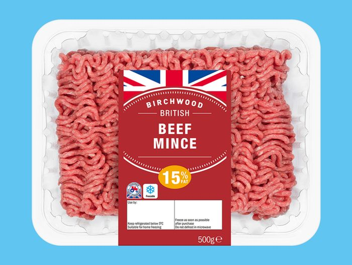 Beef Mince, 15% Fat at Lidl