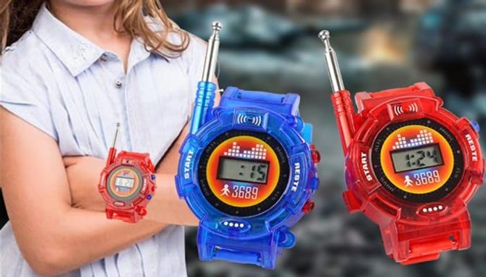 Pair of Kids' Walkie-Talkie Watches