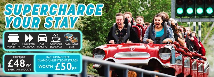 Park Entry with Ultimate Fast Track and Parking £96 for Two@ Thorpe Park