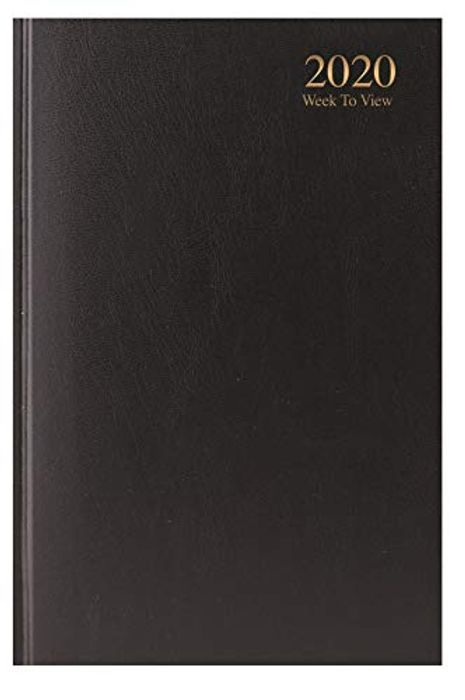 2020 A5 Week to View Diary - WTV A5 Planner Hardback Cover