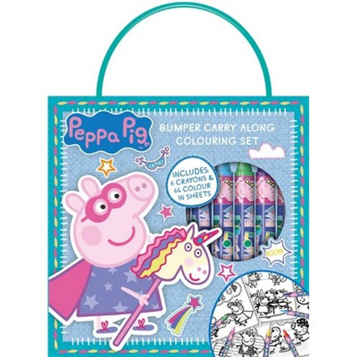 Special Offer - Peppa Pig Carry along Colouring Set HALF PRICE