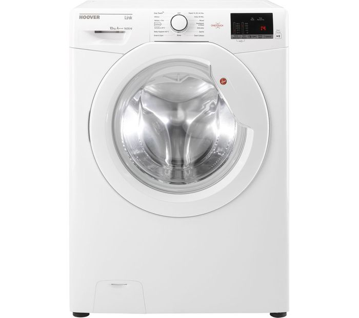 HOOVER DHL 14102D3 10 Kg 1400 Spin Washing Machine - White