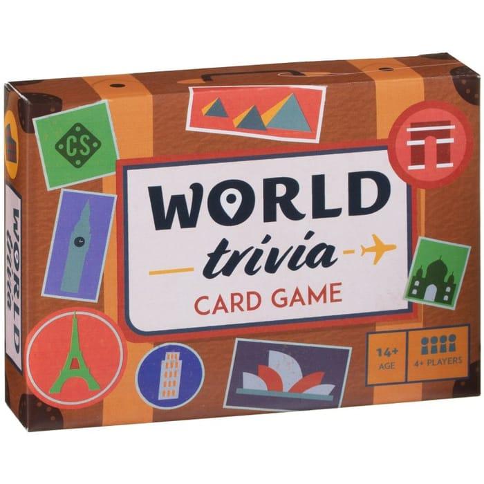 World Trivia Card Game