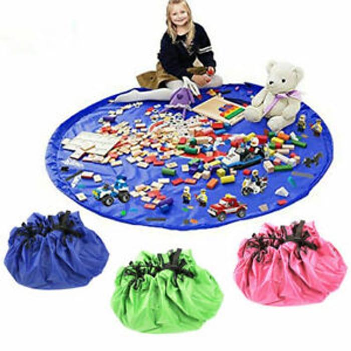 CHEAP! Large Portable Kids Legos Toy Storage Bag Drawstring Tidy Organiser