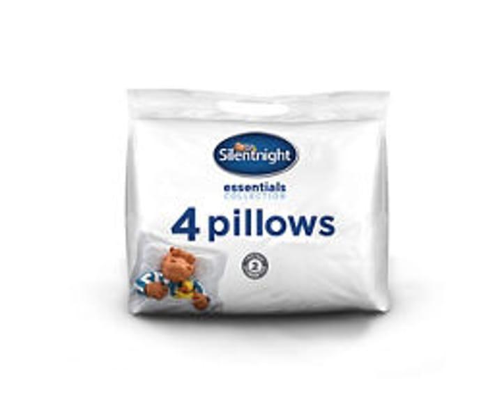 Asda Pack of 4 Pillows HALF PRICE