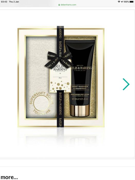 Baylis & Harding - Sweet Mandarin and Grapefruit Footcare Gift Set