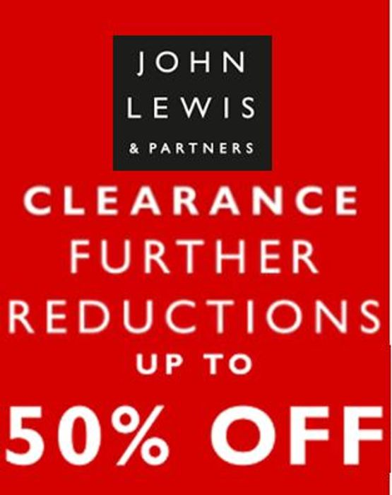 Best Price! John Lewis Clearance Sale - FURTHER REDUCTIONS - LIVE NOW