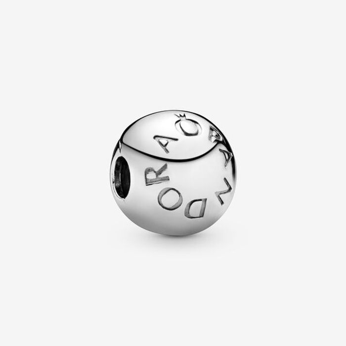 Cheap Pandora Logo Clip Charm Sterling Silver 925 with 50% Discount!