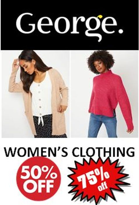 Asda GEORGE - Womens Clothing SALE - up to 75% Off