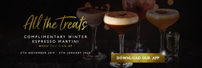 Free Winter Express Martini at All Bar One!