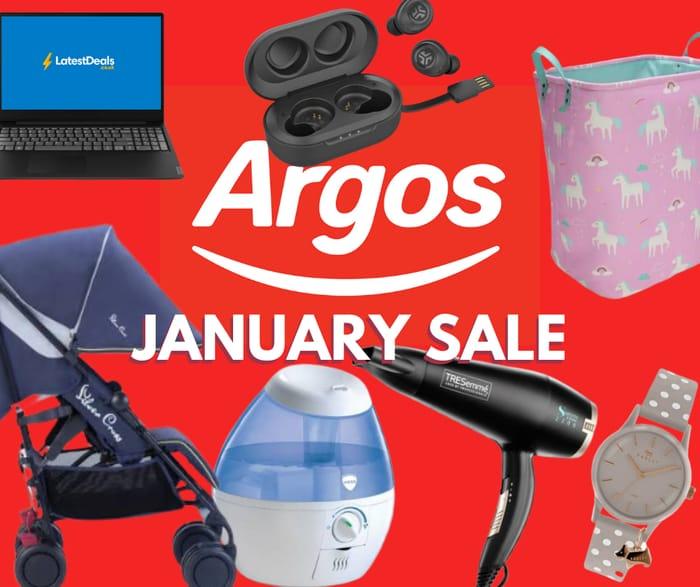 Cheap Argos January Sale, Home Sale & Clearance!