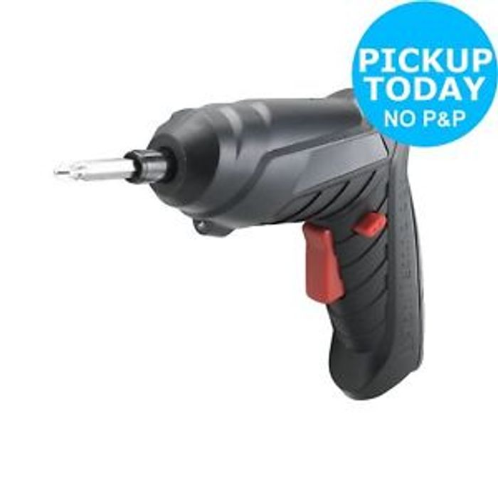 Challenge Li-Ion Screwdriver - 3.6V FREE Click & Collect at Argos