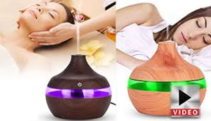Aroma Essential Oil Electric Humidifier - 2 Colours