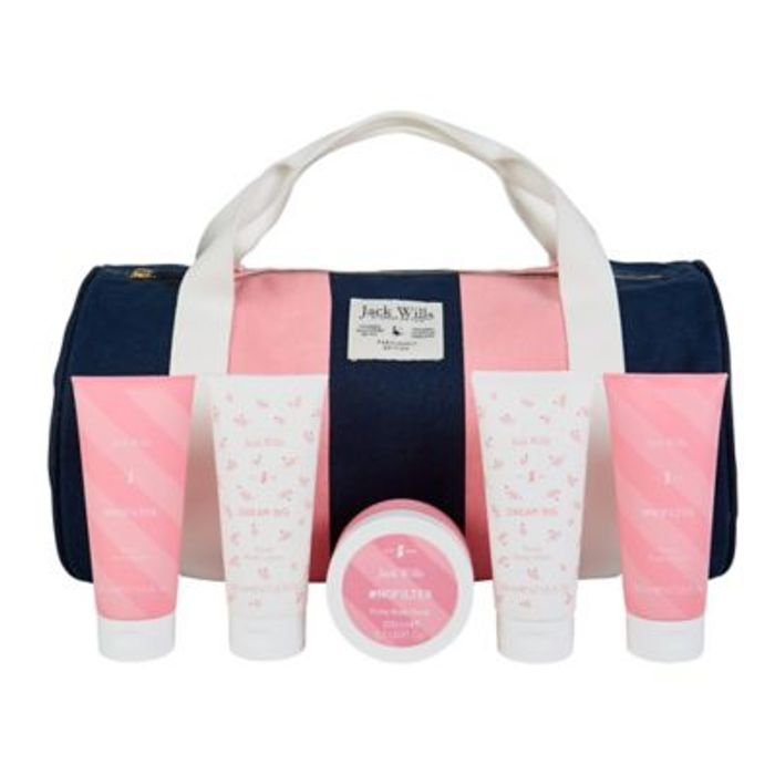 Jack Wills Ladies Gym Bag Gift Set - HALF PRICE!