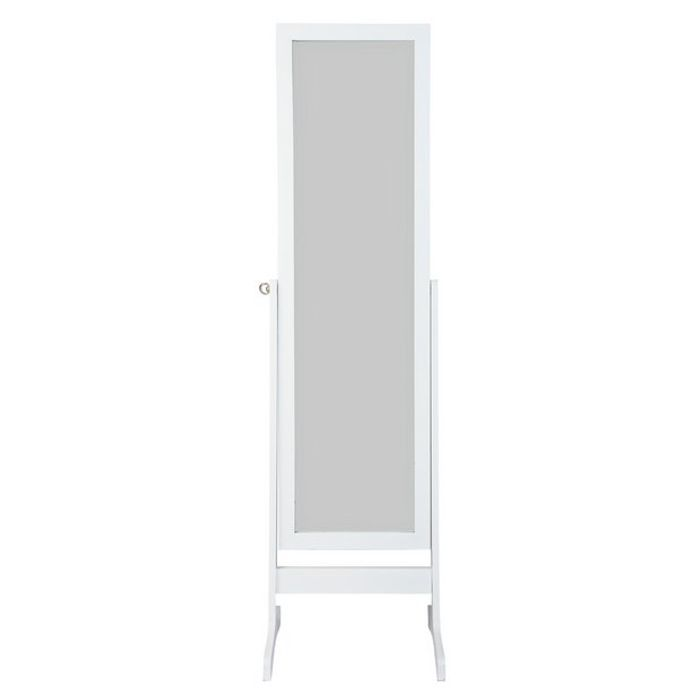 Argos Home Full Length Wooden Cheval Mirror - White