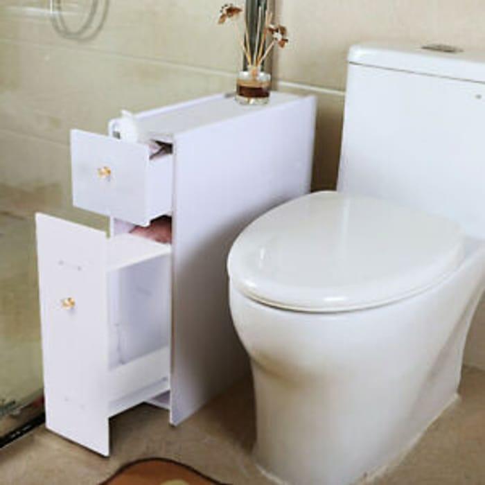Best Price! Slimline Bathroom Organiser Cupboard at ebay