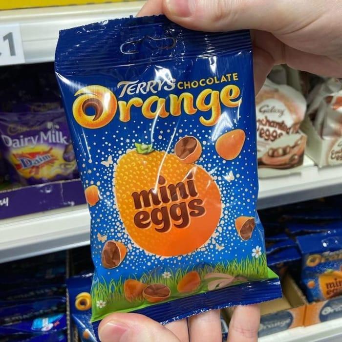 Terrys Chocolate Orange Mini Eggs