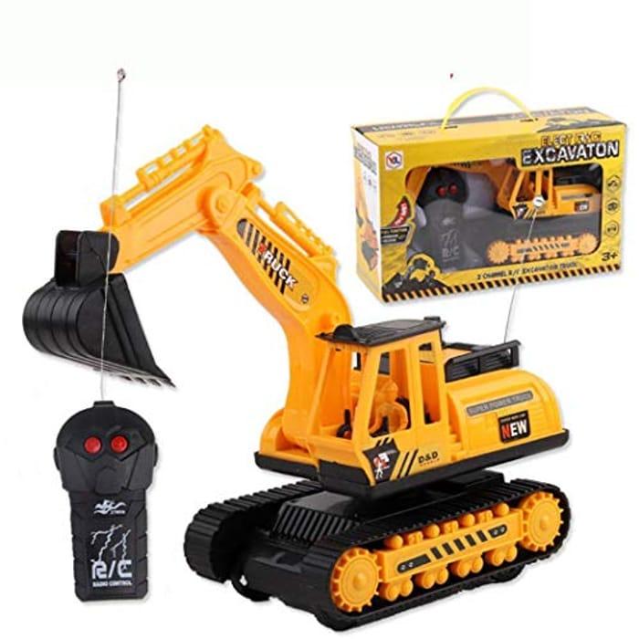 Kids Remote Control Digger